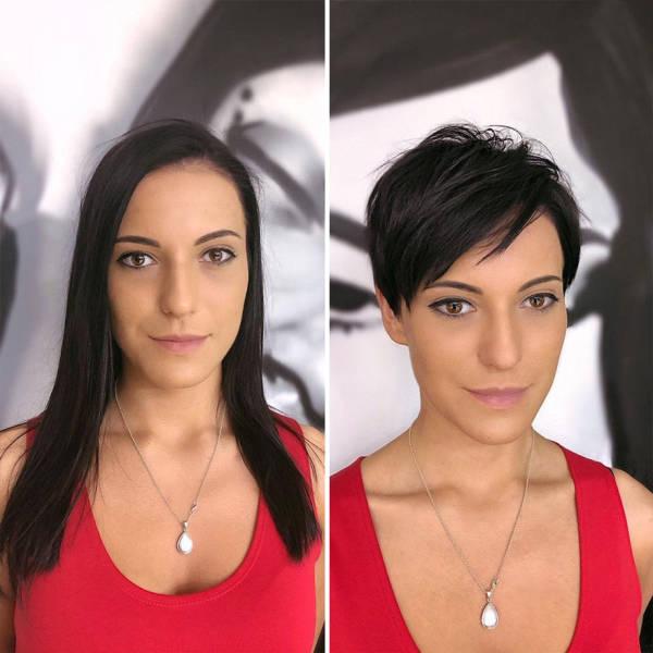 Women Who Decided To Cut Their Hair Short