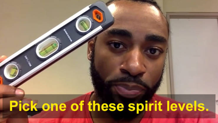 """Flat Earth Genius """"Proves"""" The Earth Is Flat By Using A Spirit Level…"""
