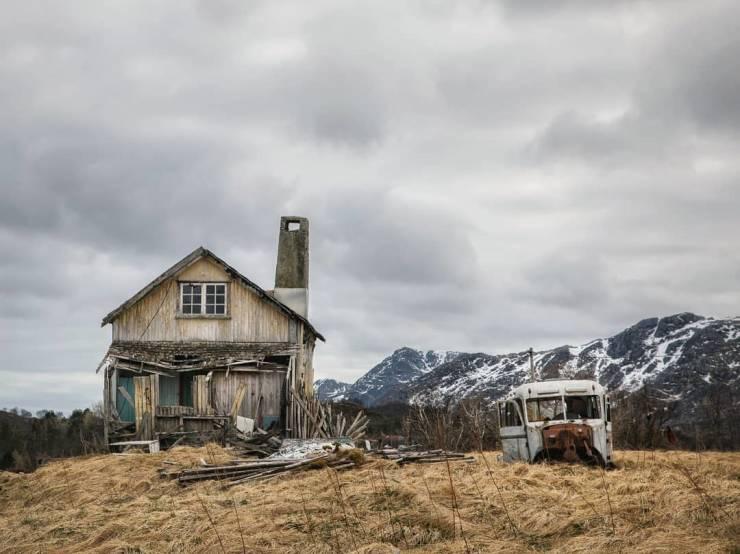 Abandoned Norwegian Homes By Britt Marie Bye