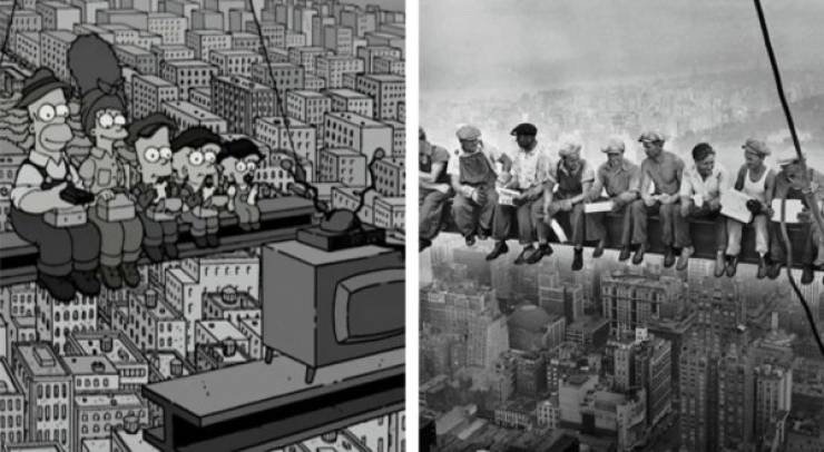 """The Simpsons"" Have Recreated Tons Of Famous Photos!"