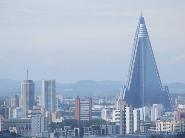 """Ryugyong"" Hotel, North Korea"