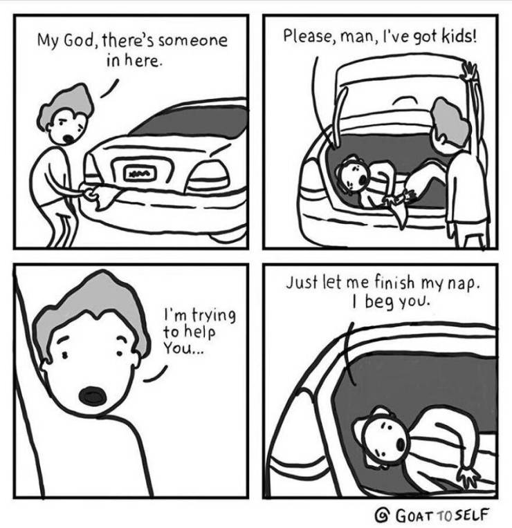These Comics By Goattoself Are Both Absurd And Funny!