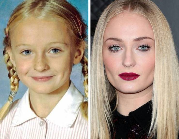 Celebrities Back When They Were Kids