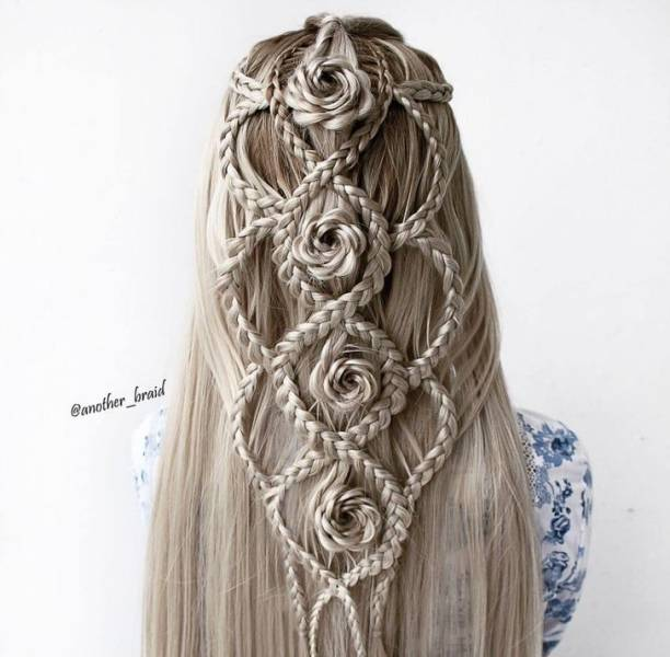 This Self-Taught Artist Creates Majestic Braids!