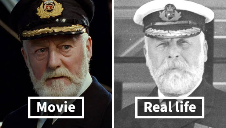 Titanic Passengers In Hollywood Movie Vs In Real Life