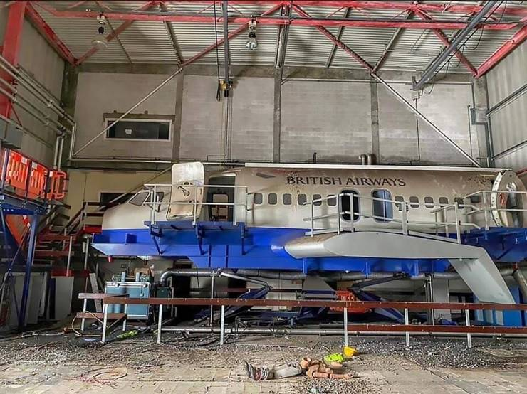 "Abandoned ""British Airways"" Training Center"