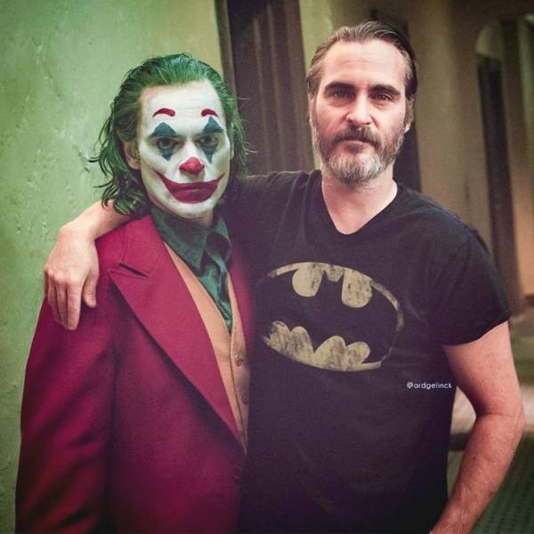 Actors And Actresses Photoshopped Next To Their Famous Roles