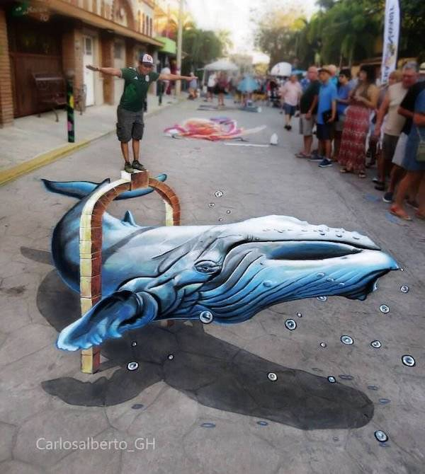 These Are Some Stunning Examples Of 3D Street Art!