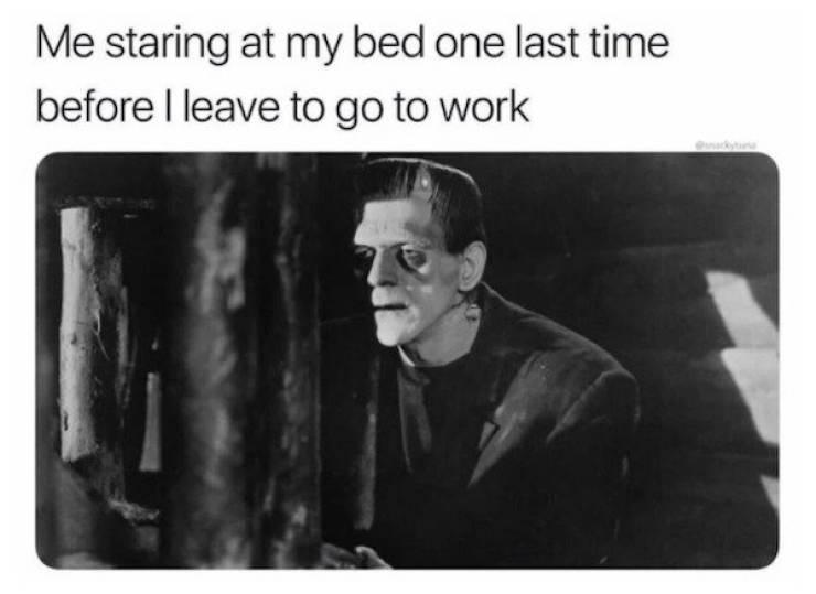 Work Is Still Here…