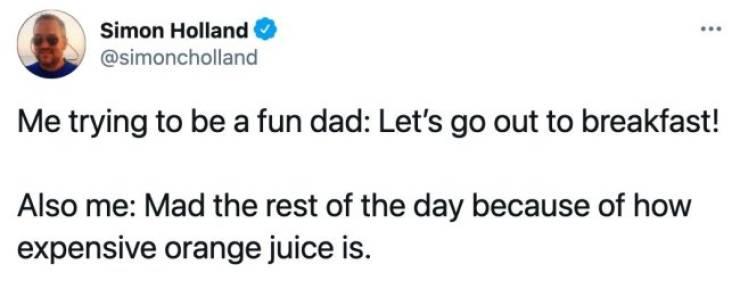 Dads Will Never Stop Being Dads…