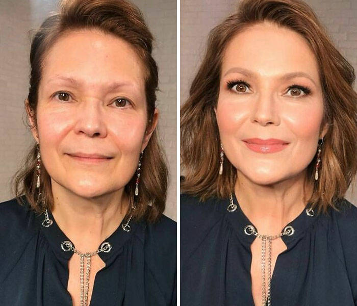 Makeup Artist Gives Women Hollywood-Like Transformations