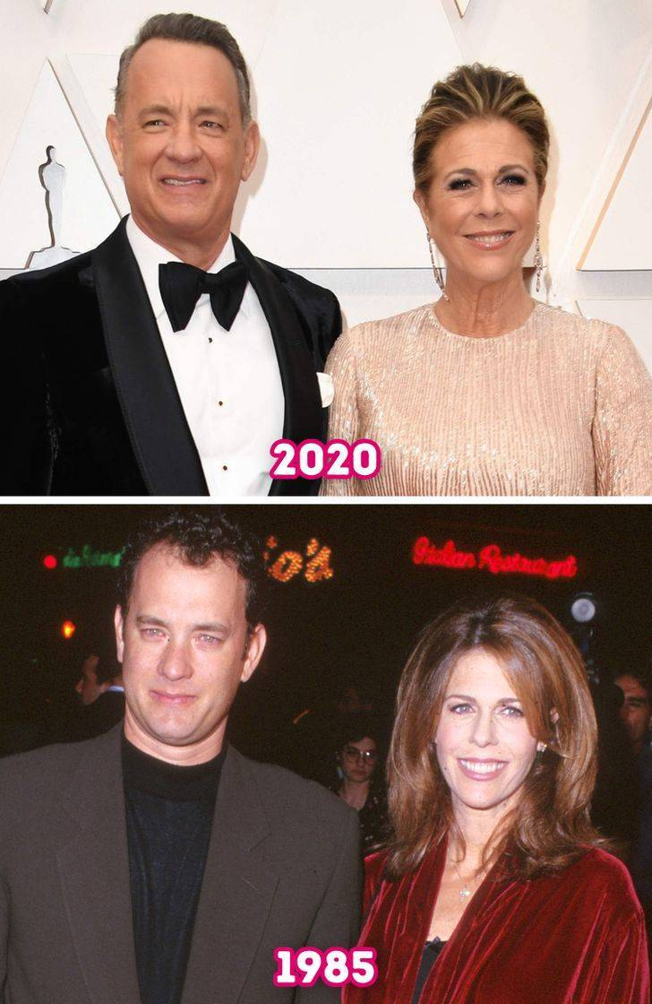 Long-Standing Celebrity Couples Then Vs Now