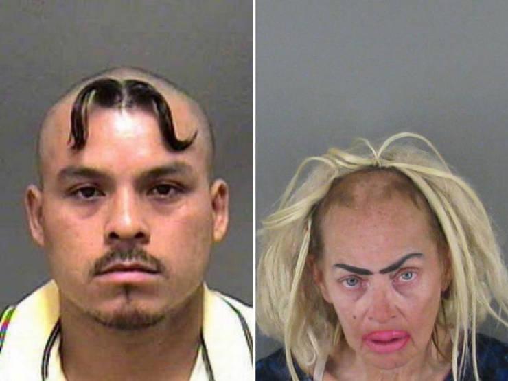 Mugshots With Craziest Haircuts Imaginable