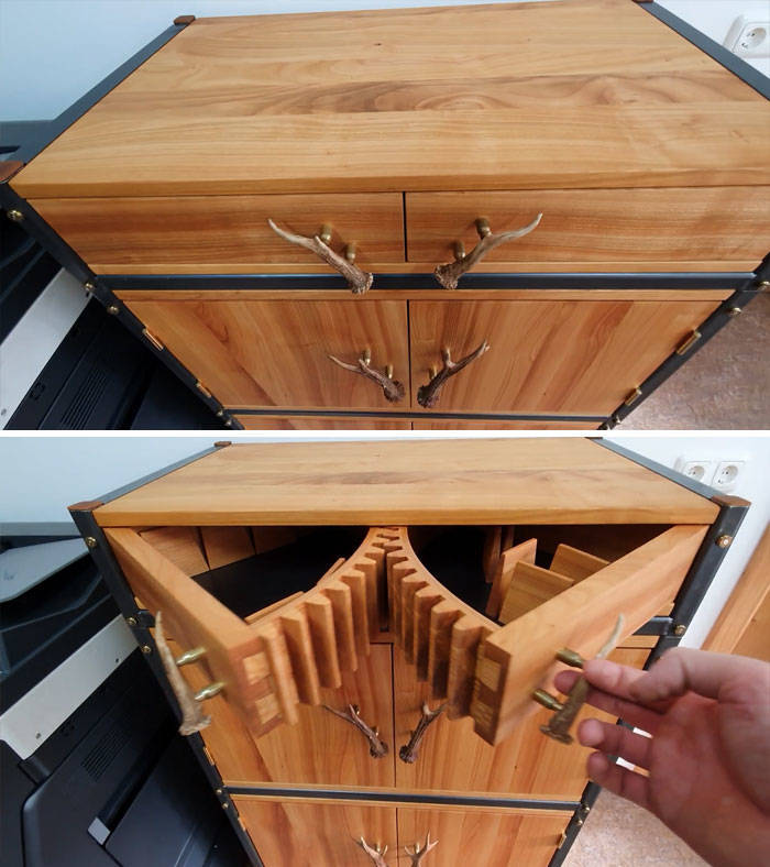 Let's All Appreciate This Beautiful Woodworking!