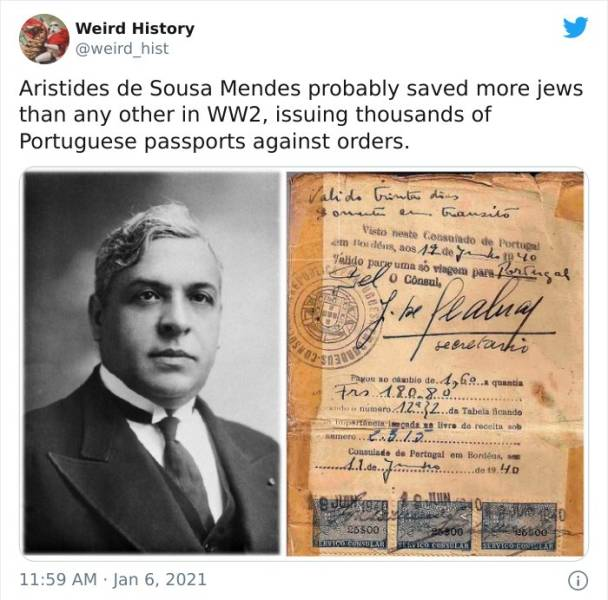 History Really Is Weird…