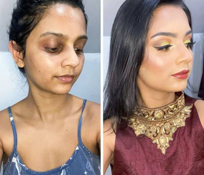 These Girls Are Self-Makeup Professionals!