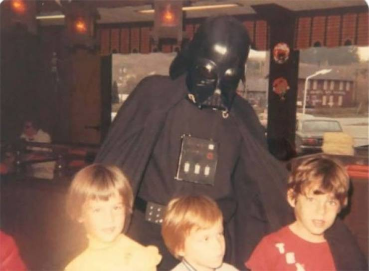 The 70s/80s – When Popular Characters Were Still Extremely Weird In Real Life