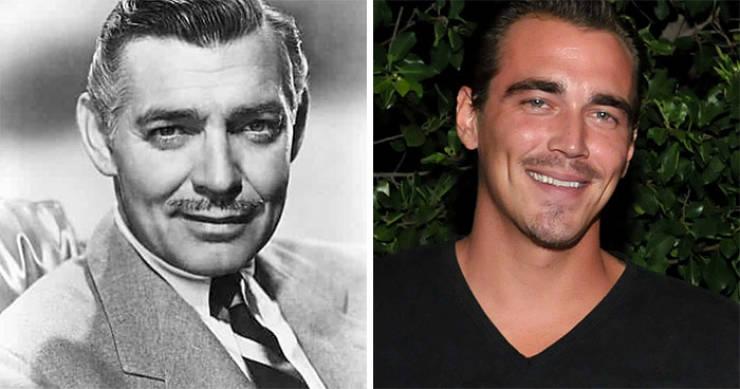 Vintage Celebrities And Their Grown-Up Grandkids