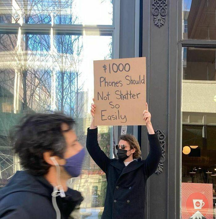 """""""Dude With Sign"""" Never Stops Protesting!"""