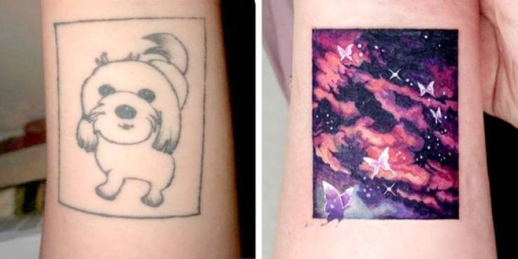 This Korean Tattoo Artist Creates Tattoo Cover-Up Masterpieces!