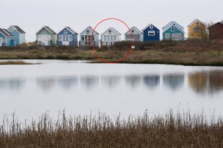 Tiny British Beach House Without A Single Bathroom Is On The Market For $450 Thousand
