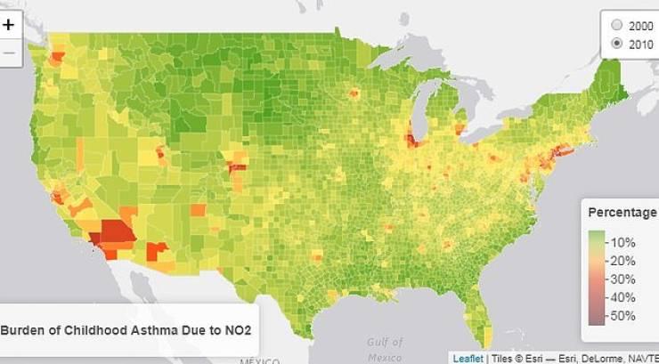 Dark Maps Of The United States Of America