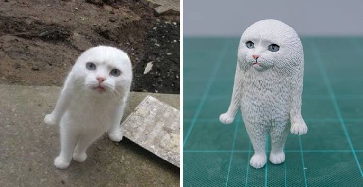 This Japanese Artist Turns Hilarious Animal Moments Into Sculptures