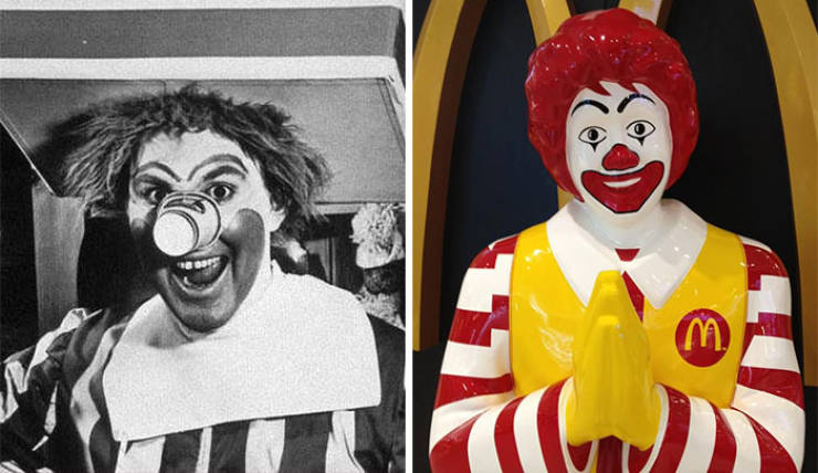 Famous Brand Mascots Then And Now