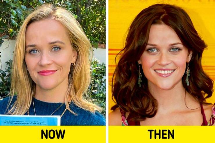 Celebrities With Old And New Hairstyles