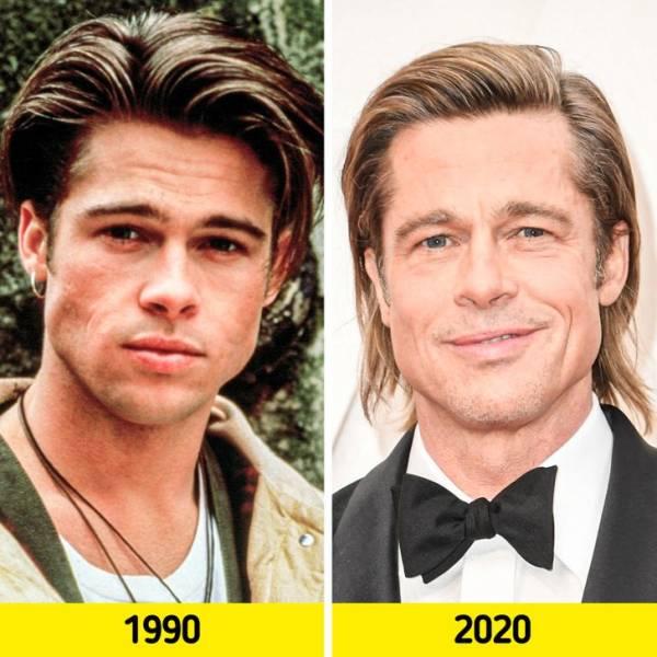 '90s Celebrities Back In Their Prime Vs In 2020