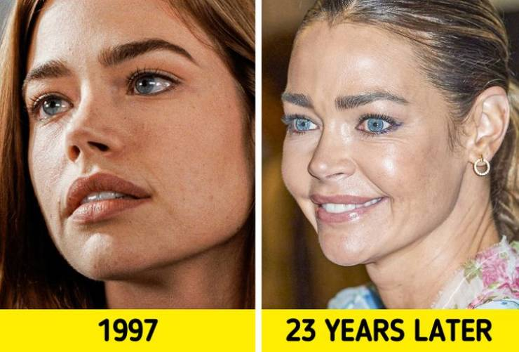 Actors And Actresses From Famous '90s Movies: Then And These Days