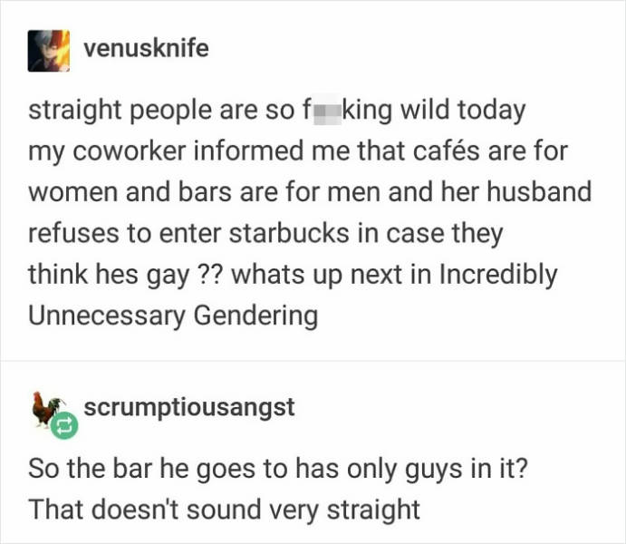 People Share Stories About Extreme Thing Gendering