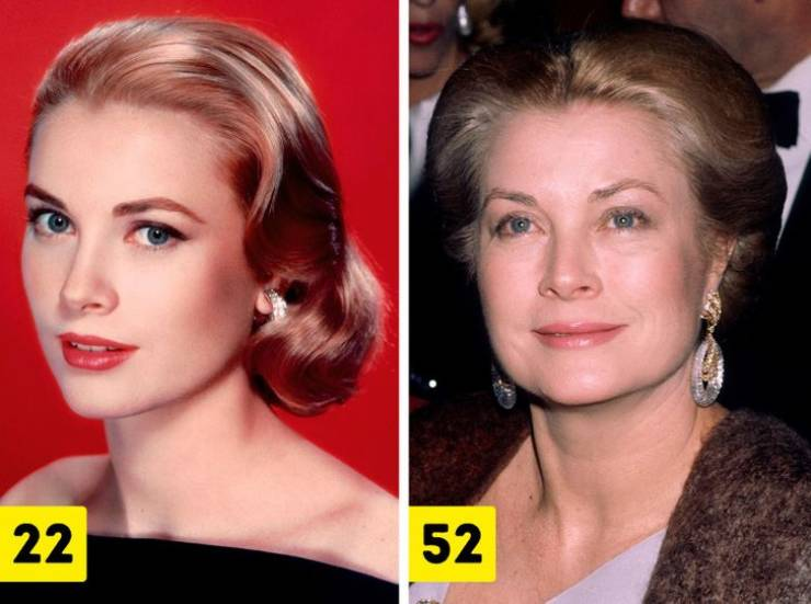 Celebrity Beauties Of The Past At Different Ages