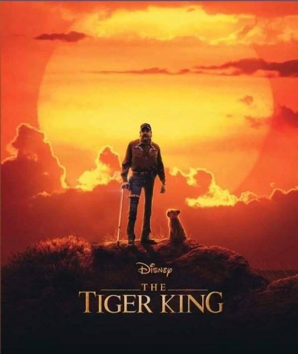 """Tiger King"" Anniversary Memes"