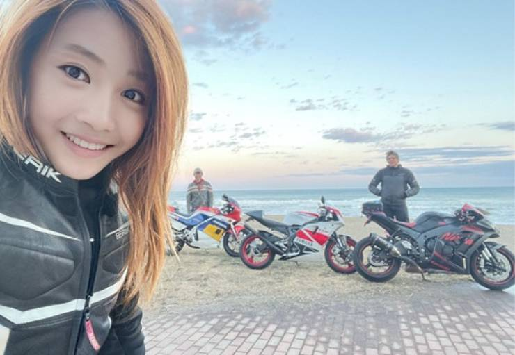 Popular Japanese Biker Girl Turned Out To Be A 50-Year-Old Man…
