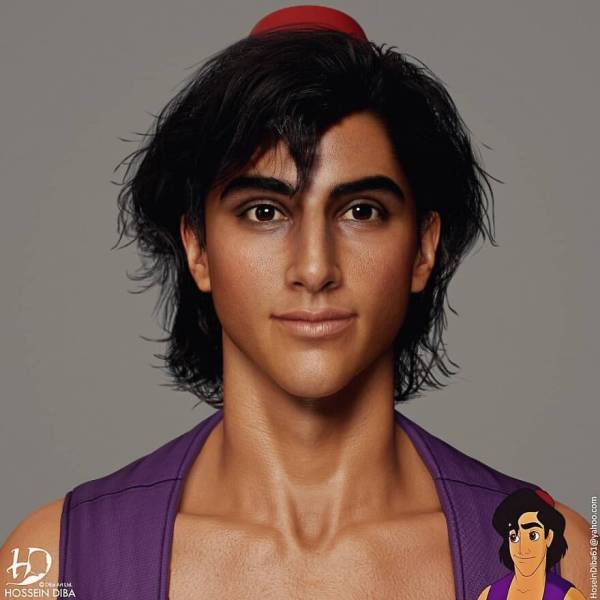 Artist Turns Pop Culture Characters Into Real Life People