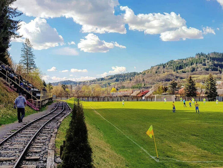 Railway Stadium – One Of The World's Most Unique Football Fields
