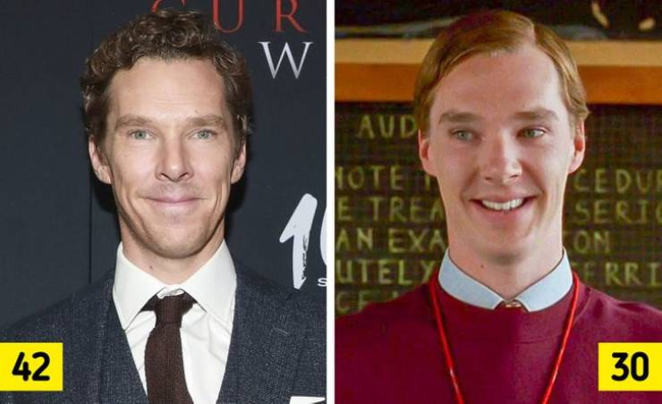 Famous Male Celebs Back When They Were Younger