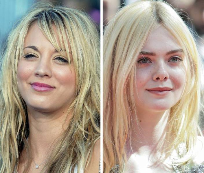 Different Generations Of Hollywood Stars At The Same Age