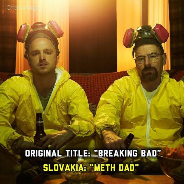 Weird Translations Of Movie Titles In Various Countries