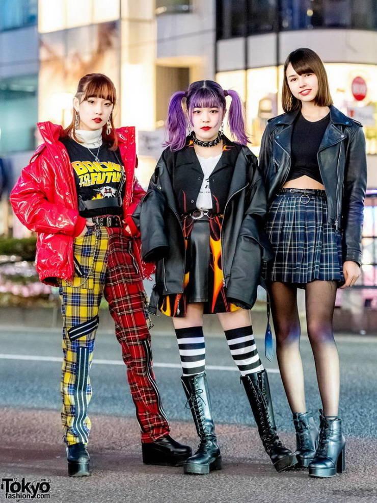 Exotic Looks Of Tokyo Street Fashion