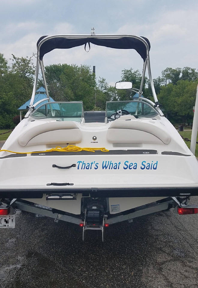 These Are Some Clever Boat Names!