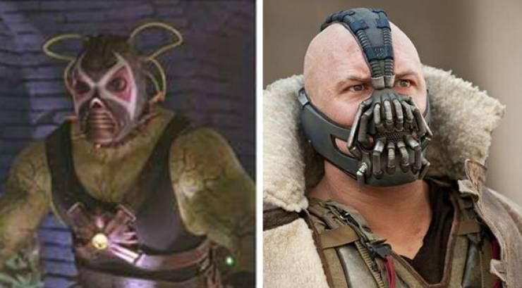 Famous Superheroes: In The Past Vs Now