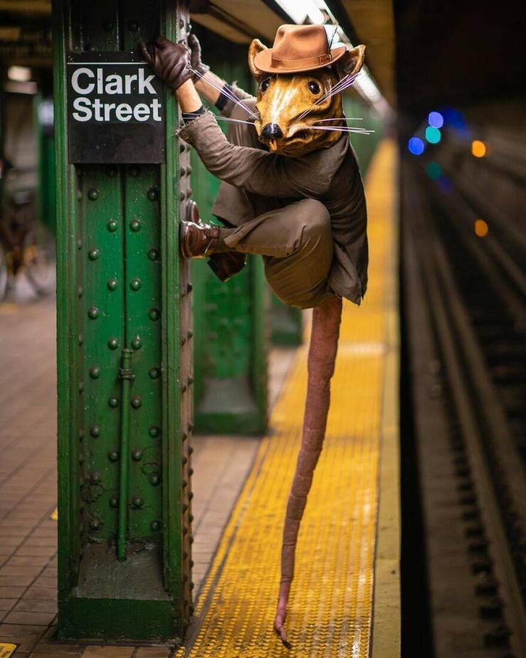 Photographer Captures Uniqueness Of The New York Subway