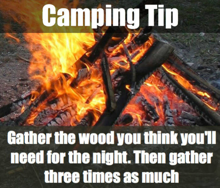 Camping Season Is Coming, So Here Are Some Tips