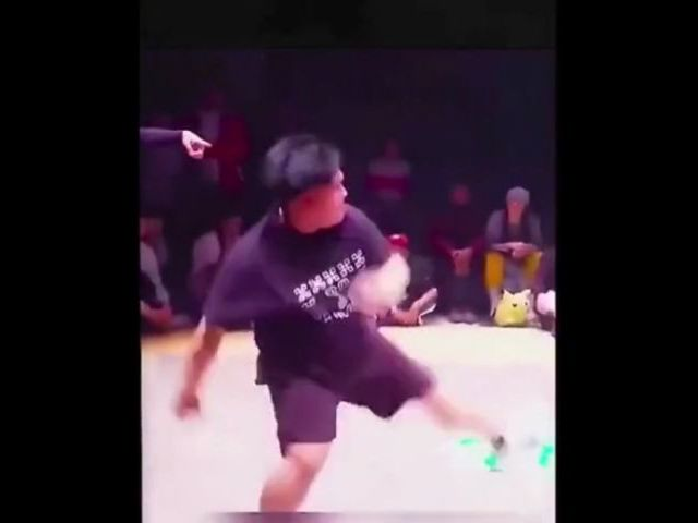 Look At His Moves!