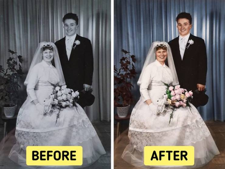 Family Photos That Deserved To Get Colorized