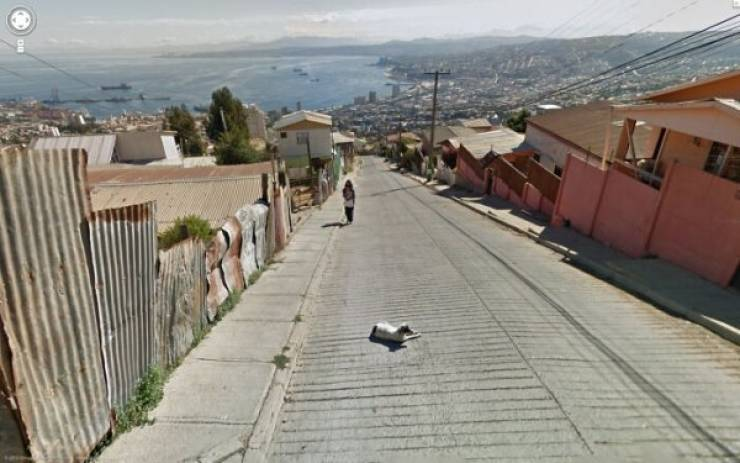 "Curious Finds From ""Google Street View"""