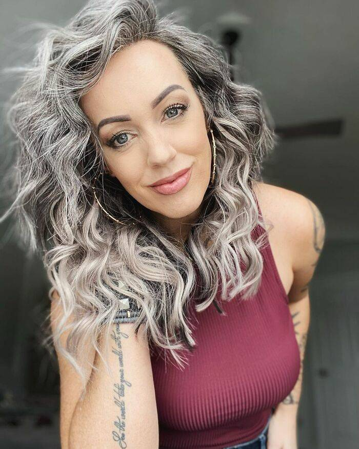 Gray stop hair coloring Going Gray: