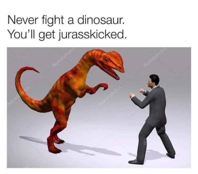 These Dinosaur Memes Are Not Extinct Yet!